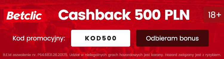cashback betclic kod promocyjny